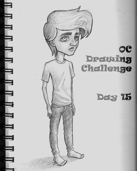 OC Challenge 15 by past-liam