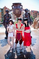 ATLA: Fire Nation Assemble! by chinasaur