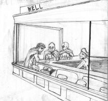 Diner in Hell by UserNamE-ERROR