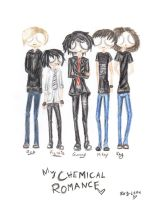 My Chemical Romance by Ray-leen