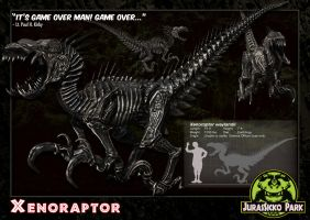 05 Xenoraptor by LDN-RDNT