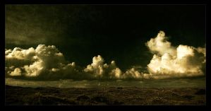 fluffy clouds by raun