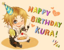 Happy Birthday Kura by f-wd