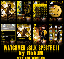 Watchmen : Silk Spectre II by RobJM-mmc
