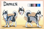 Damien Reference Sheet by JamJams