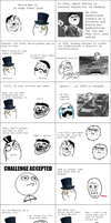 World War II Rage Comic by myvideogameworld