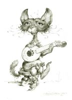 MandolineCat by Fash-ion