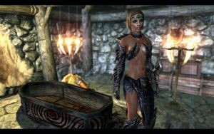 Skyrim Muiri Warrior by DonMichael71