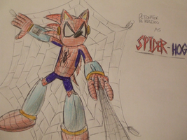 Detonator the Spider-Hog by spyaroundhere35