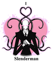I heart Slenderman by GreenMute