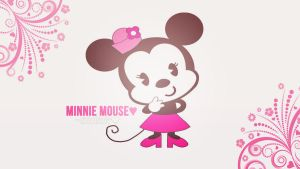 Wallpaper de Minnie Mouse by me by a-Sonrix