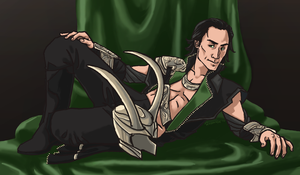 Loki Congratulates You for Surviving Another Year by Robinade