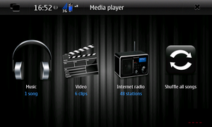D4rK Media Player - Maemo5 by D4rKlar