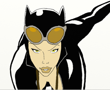 6-23 Catwoman by Mew-Ino