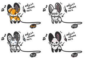 Portable Mouse Speakers Adopts :CLOSED: by MiruruLove