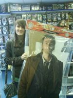 Me and David Tennant by Anime-Reality