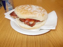 Bacon buttie by FFDP-Neko