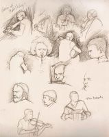 Sketches from an Irish Session by detvarjohanna