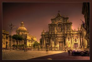 The Cathedral of Catania II by rhipster