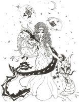 The Priestess of Demeter, Apothecles by archangel1012345