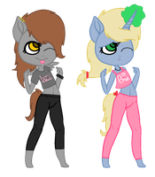Anthro Pony Adopts! (CLOSED) by SNlCKERS