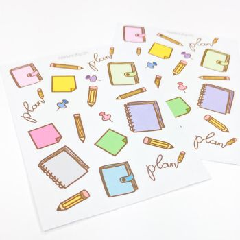 Planner stickers by FrozenNote