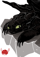 Toothless Rocks by Dreamsoffools