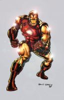 classic Iron man by elfodesenhistabr