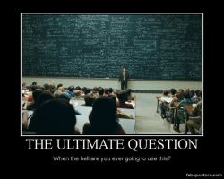 The Ultmate Question by MilfredxCubical