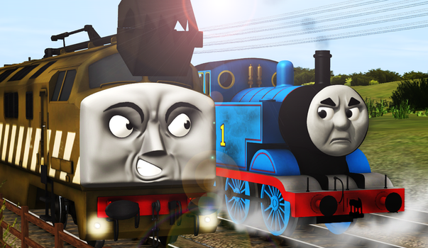 War On Sodor (Poster 1) by demarm1youtube