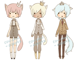 .:*[ 007-009 (CLOSED) ]*:. by cowcow-adopts