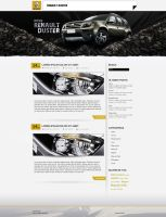 Renault - DUSTER - Blog by psybass