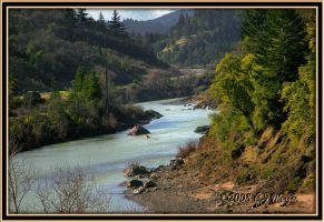 The Meandering Russian River by e-CJ
