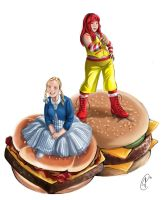 Burger Queens by yapi