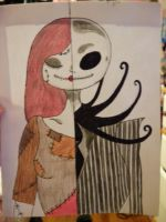 Jack and Sally by emobear