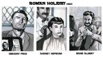 Roman holiday sketch cards by didism