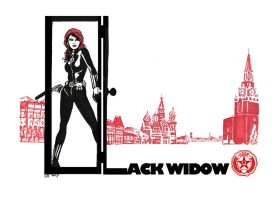 The Black widow. by didism