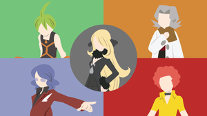 Sinnoh Elite Four Comp. by DashingHero