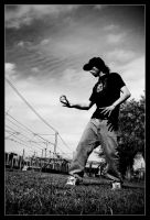 Contact Juggling I by noirchile