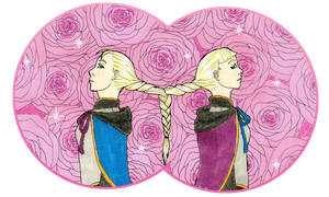 Rosalie And Marie by MommaCabbit