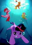 under the water pony by zigrock001