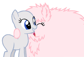 My Little Pony Base - Huggles with Fluffle Puff! by xCottonCandy105