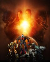 Transformers Movie Poster by thynesh