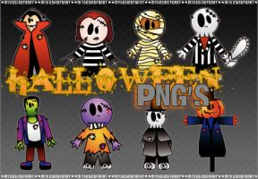 Halloween PNG's by MyDesireForAT
