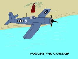 Vought F4U Corsair by pete7868