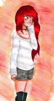 Red Head by Kayli-Kins