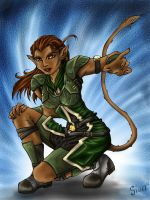 Cathar Female by RiaStarchild