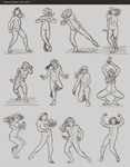 Figure Studies 1 by Lydiamay