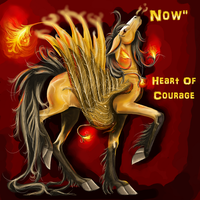 Heart Of Courage by Mikonow
