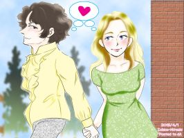[RQ]Micky and Michelle - Under the blue sky. by Ichico-Mitsuki